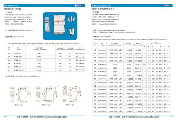 陕西RT14/RT18系列有填料圆柱型雷竞技app下载苹果版
